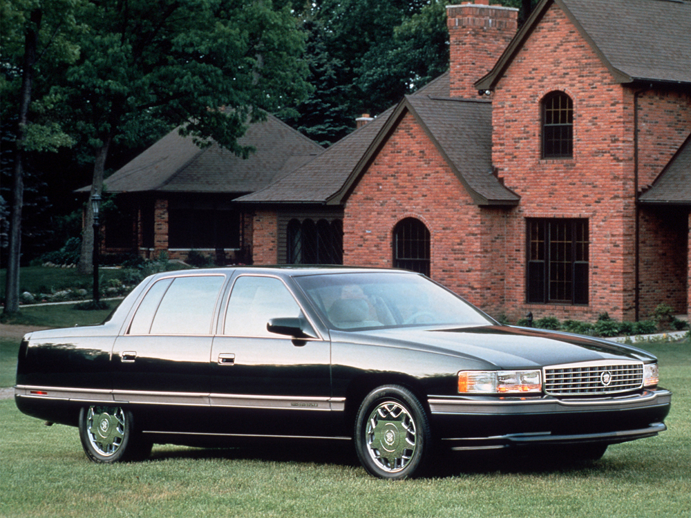 1994 1996 cadillac deville concours series 6k f 4 dr sedan 5 usautohistory. Black Bedroom Furniture Sets. Home Design Ideas